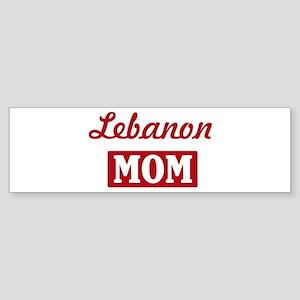 Lebanon Mom Bumper Sticker