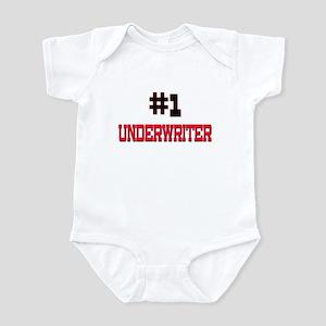Number 1 UNDERWRITER Infant Bodysuit