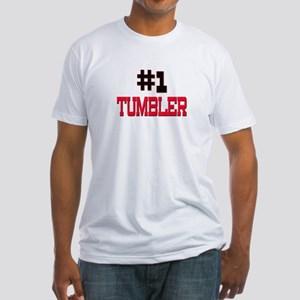 Number 1 TUMBLER Fitted T-Shirt