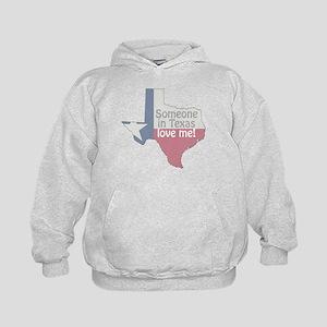 Someone in Texas Love Me Kids Hoodie