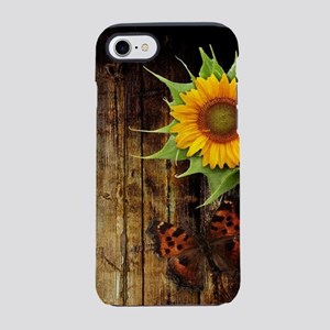 Butterflies and Sunflowers iPhone 7 Tough Case