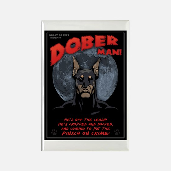 Dober Man! Rectangle Magnet