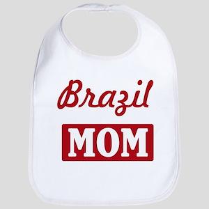 Brazil Mom Bib