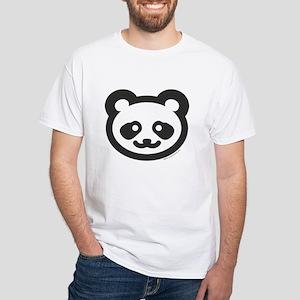 BABY PANDA White T-Shirt