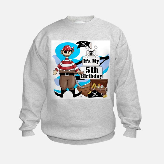 Pirate's Life 5th Birthday Sweatshirt