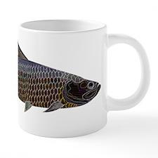 Abstract Line Tarpon 20 oz Ceramic Mega Mug