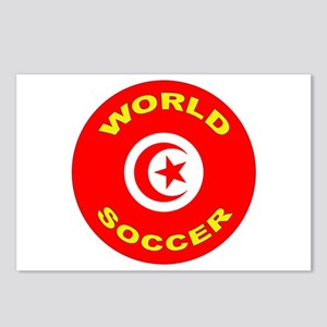 Tunisia World Cup 2006 Soccer Postcards (8 Pack)