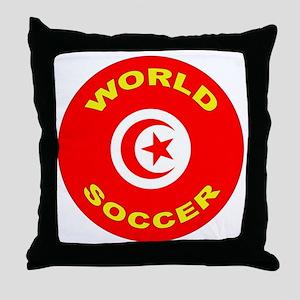 Tunisia World Cup 2006 Soccer Throw Pillow