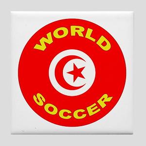 Tunisia World Cup 2006 Soccer Tile Coaster