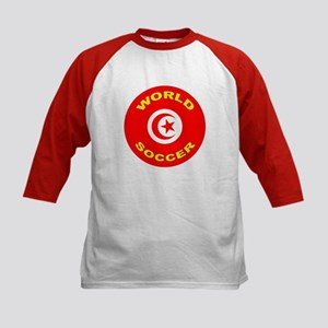 Tunisia World Cup 2006 Soccer Kids Baseball Jersey