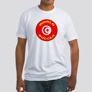 Tunisia World Cup 2006 Soccer Fitted T-Shirt