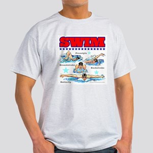 Swimming (M) T-Shirt