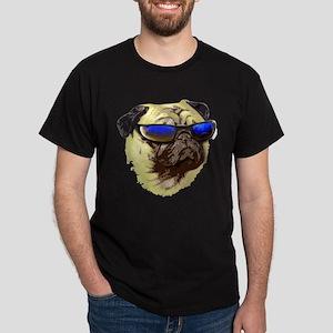 Cool Pug Black T-Shirt