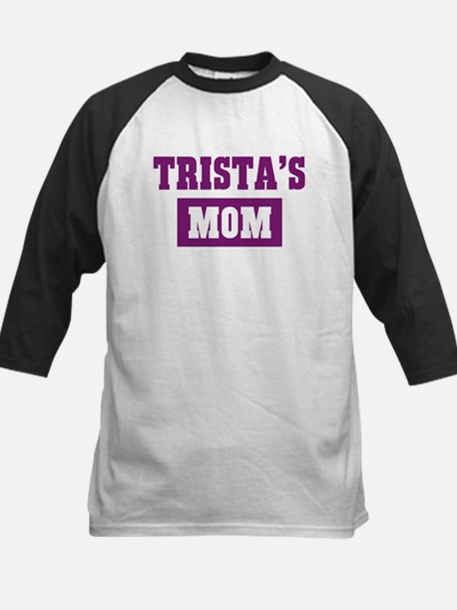 Tristas Mom Kids Baseball Jersey