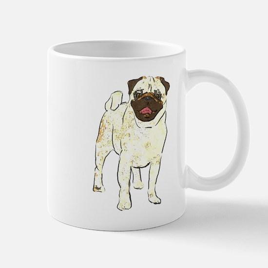 Happy Pug Mug