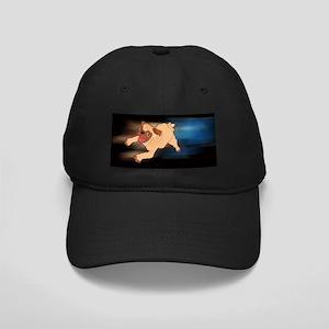 Baby Pug Black Cap