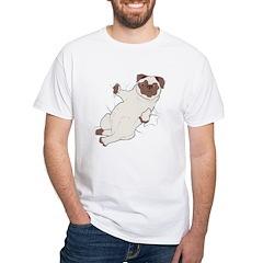 Snug Pug White T-Shirt