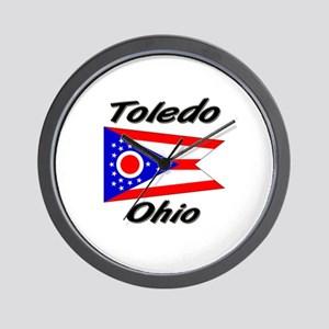 Toledo Ohio Wall Clock