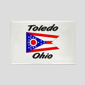 Toledo Ohio Rectangle Magnet