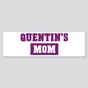 Quentins Mom Bumper Sticker