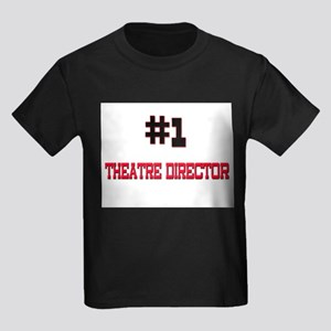 Number 1 THEATRE DIRECTOR Kids Dark T-Shirt