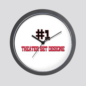 Number 1 THEATRE DIRECTOR Wall Clock