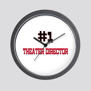 Number 1 THEATER DIRECTOR Wall Clock