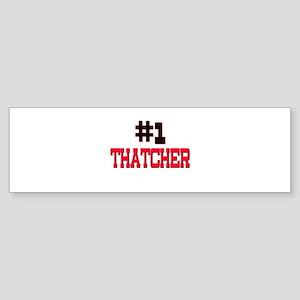 Number 1 THAUMATOLOGIST Bumper Sticker
