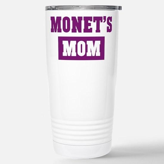 Monets Mom Stainless Steel Travel Mug
