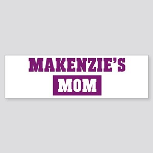 Makenzies Mom Bumper Sticker