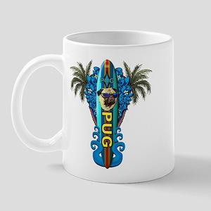 Beach Pug Mug