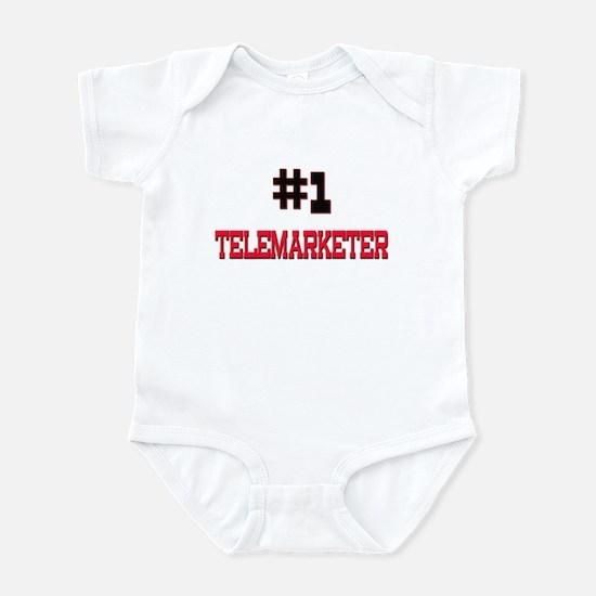 Number 1 TELEMARKETER Infant Bodysuit