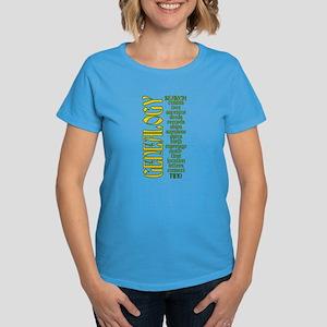 Genealogy List Women's Dark T-Shirt