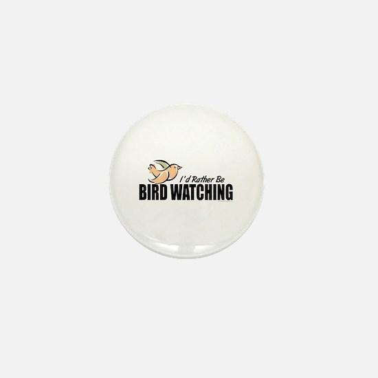 Bird Watching Mini Button