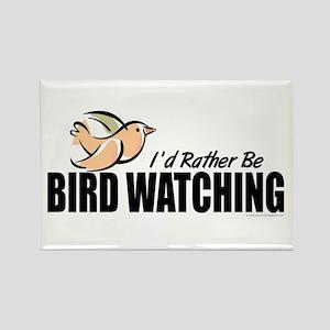 Bird Watching Rectangle Magnet