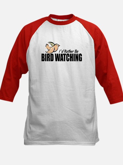 Bird Watching Kids Baseball Jersey