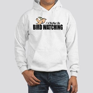Bird Watching Hooded Sweatshirt