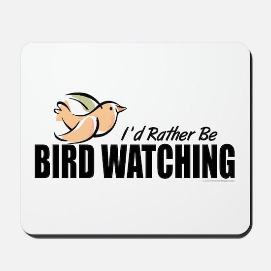 Bird Watching Mousepad