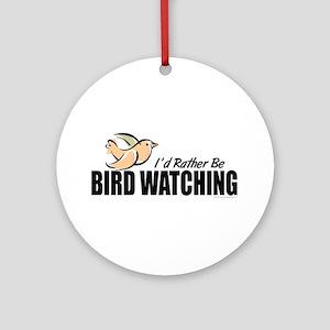 Bird Watching Ornament (Round)