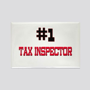 Number 1 TAX INSPECTOR Rectangle Magnet