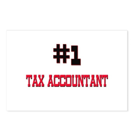 Number 1 TAX ACCOUNTANT Postcards (Package of 8)