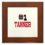 Number 1 TANNER Framed Tile