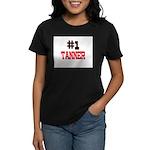 Number 1 TANNER Women's Dark T-Shirt