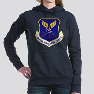 USAF Global Strike Comma Women's Hooded Sweatshirt