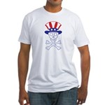 Li'l Uncle Sammy Skully Fitted T-Shirt