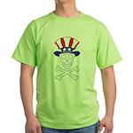 Li'l Uncle Sammy Skully Green T-Shirt