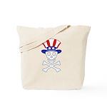 Li'l Uncle Sammy Skully Tote Bag
