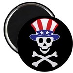 "Li'l Uncle Sammy Skully 2.25"" Magnet (100 pac"