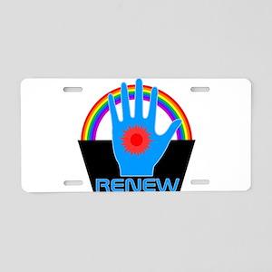 Renew - Logans Run Aluminum License Plate