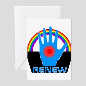 Renew - Logans Run Greeting Cards